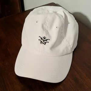 White Imperial Golf Performance Hat